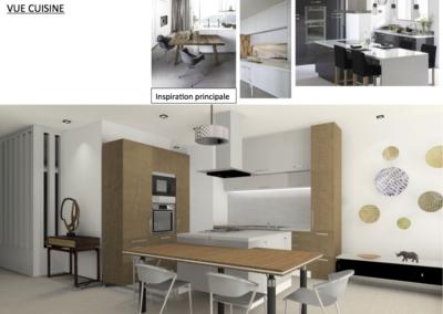 Dedans Dehors Metz Projet Aménagement et Décoration / Loft